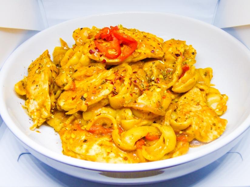 Chicken, Chilli and Red PestoPasta